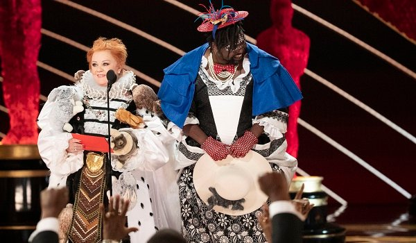 Melissa McCarthy And Brian Tyree Henry at the oscars 2019