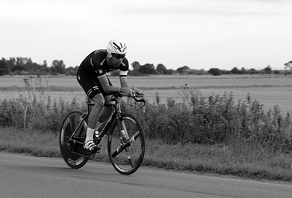Kristian House, Rossington Evening 10-mile time trial, August 2011