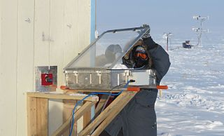 Scientists conducting Arctic research