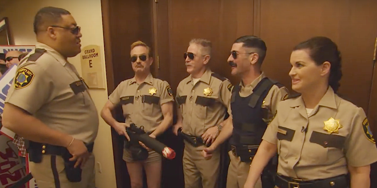 reno 911 outside ted nugent concert