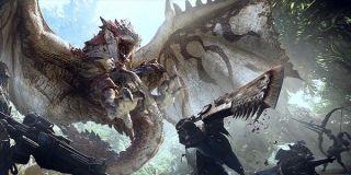epic battle Monster Hunter: World