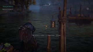 Assassin's Creed Valhalla fishing eels