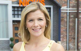 Leanne in Coronation Street, whoo's played by Jane Danson