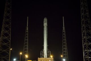 SpaceX Falcon 9 Ready to Launch Orbcomm OG2 Satellites