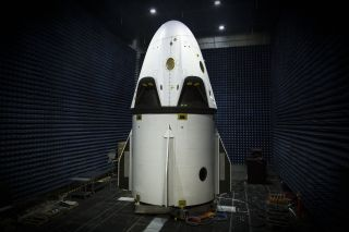 SpaceX Dragon Crew Test Vehicle