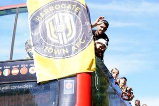 Harrogate Town A.F.C. Promotion Bus Tour