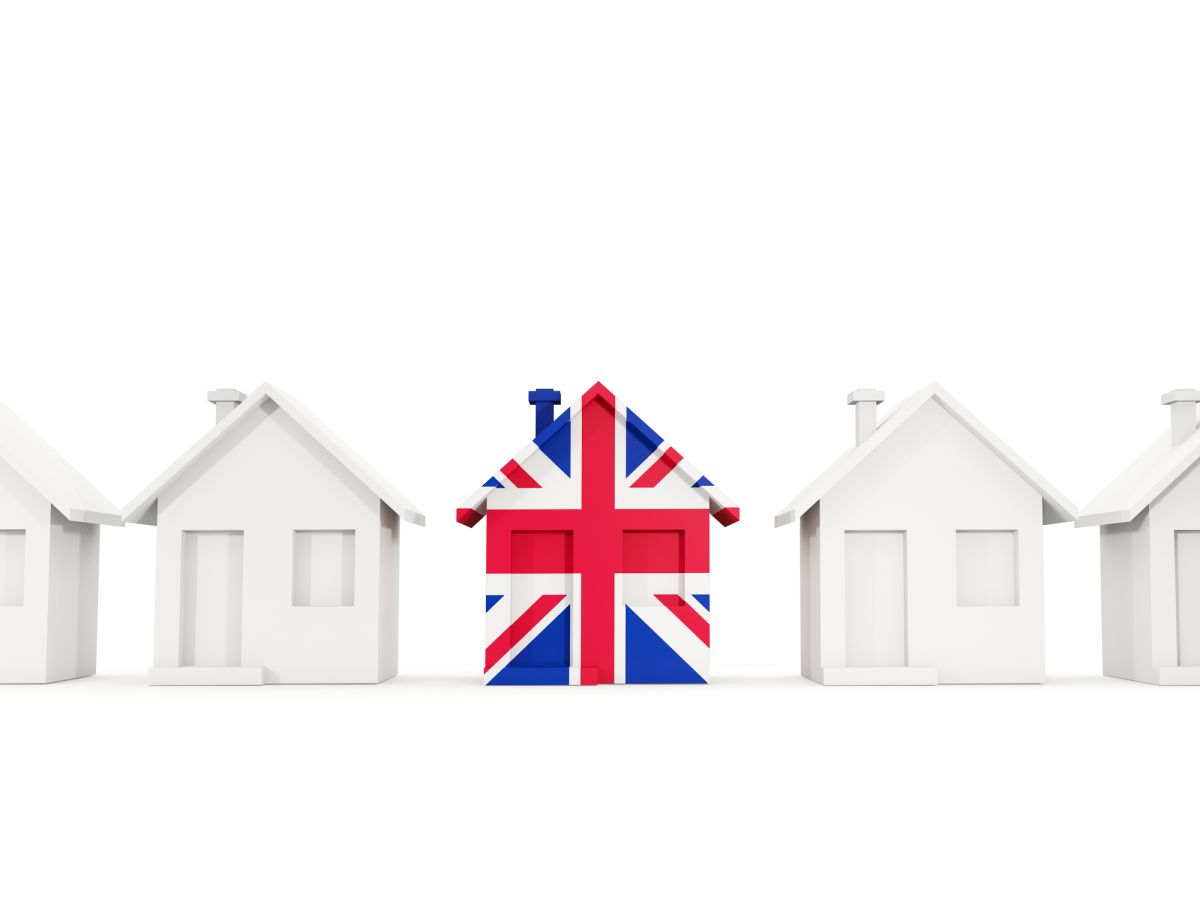 The UK housing has a gap of 1.2 million homes