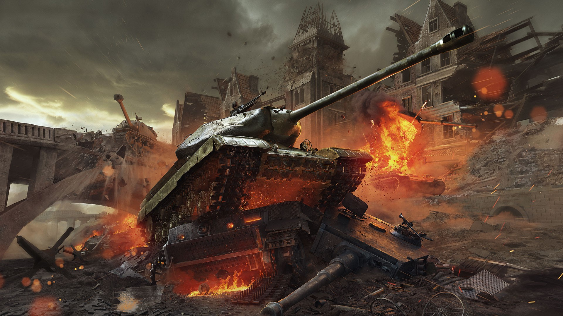 World of tanks to get new graphics engine maps in update 10 pc gamer gumiabroncs Image collections