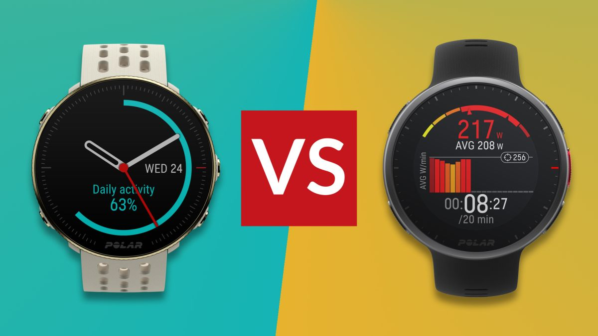 Polar Vantage M2 vs Vantage V2: which Polar wearable is the best triathlon watch?