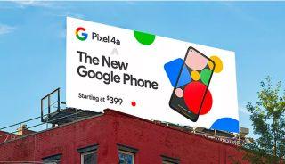 Pixel 4a billboard