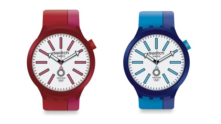 Swatch goes big and bold with Tokyo 2020 Olympic watch collection