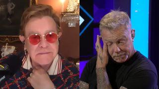 Metallica and Elton John