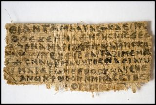 papyrus fragment of the Gospel of Jesus's wife