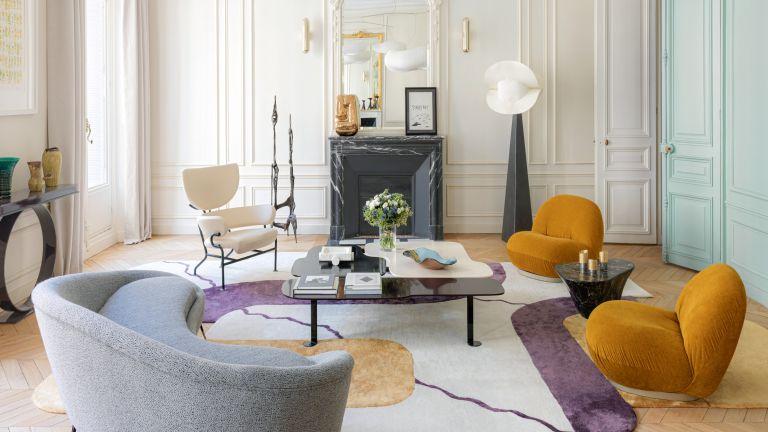 Elegant Parisian apartment, designed by Le Berre Vevaud