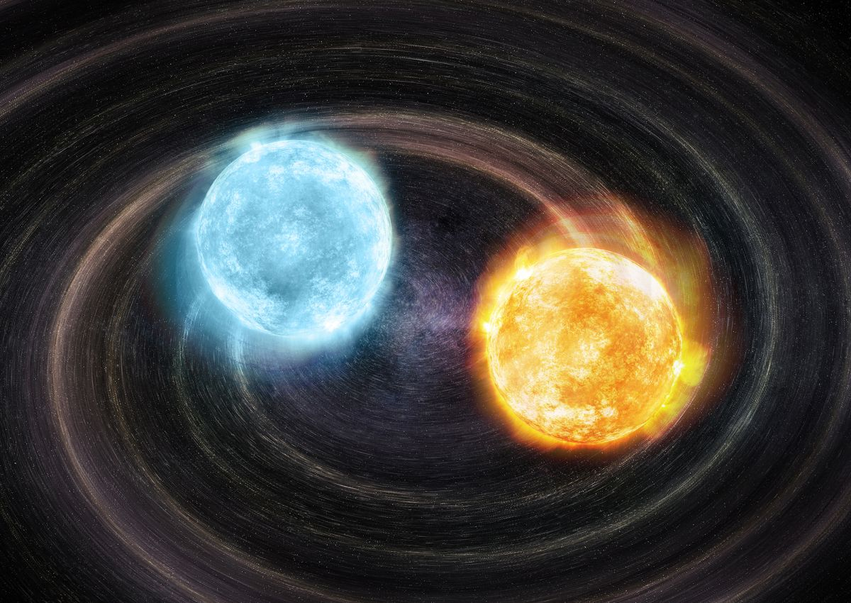 Astronomers spot never-before-seen gravitational wave source from binary white dwarf stars