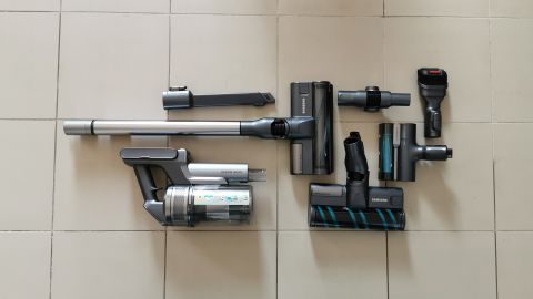 Samsung Jet 90 Cordless Vacuum comes as a range of section that easily fit together