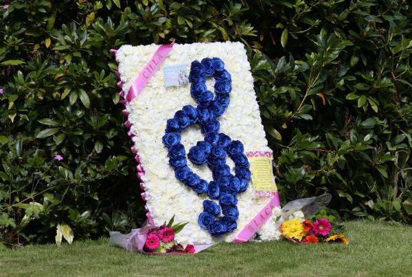 Floral tribute to Cilla Black