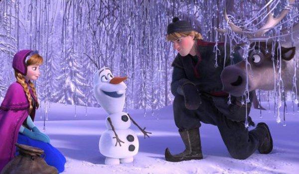 Olaf Anna Kristoff Frozen
