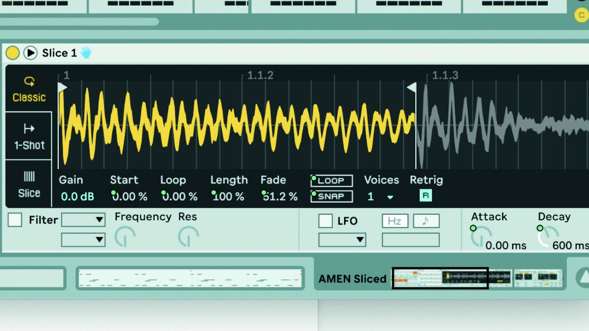 How to program a jungle-inspired breakbeat loop