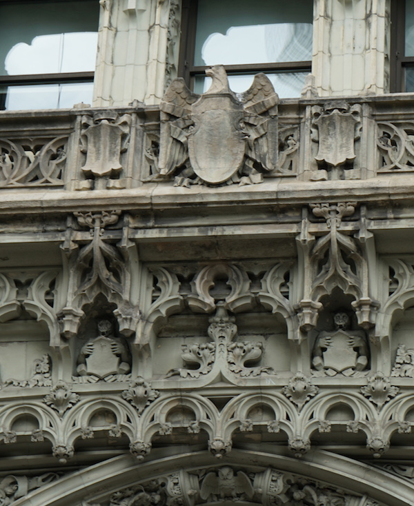 Woolworth building eagle