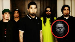 Deftones, with Architects' Sam Carter (inset)