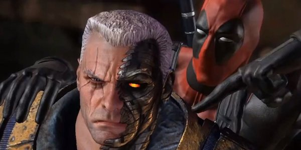 Cable and Deadpool in the Deadpool video game
