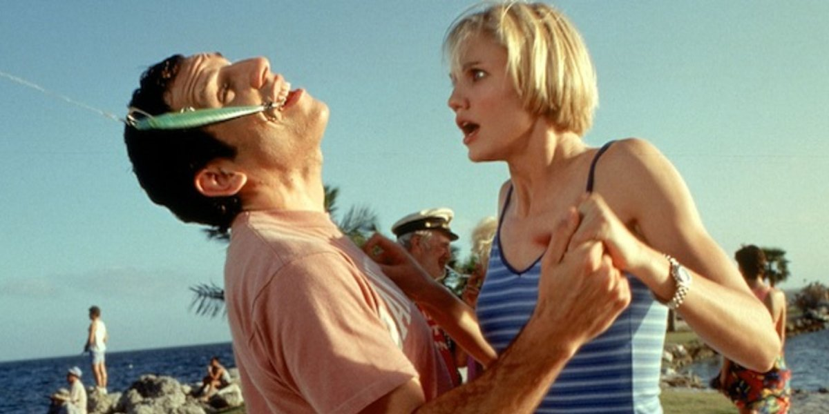Ben Stiller and Cameron Diaz in There's Something About Mary
