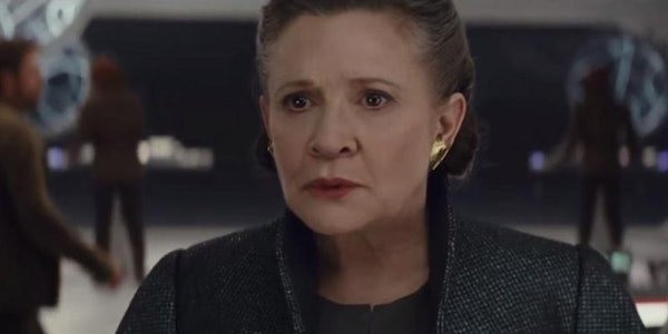 Carrie Fisher General Leia The Last Jedi Star Wars