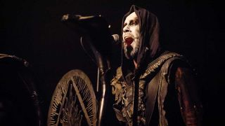 Behemoth performing live