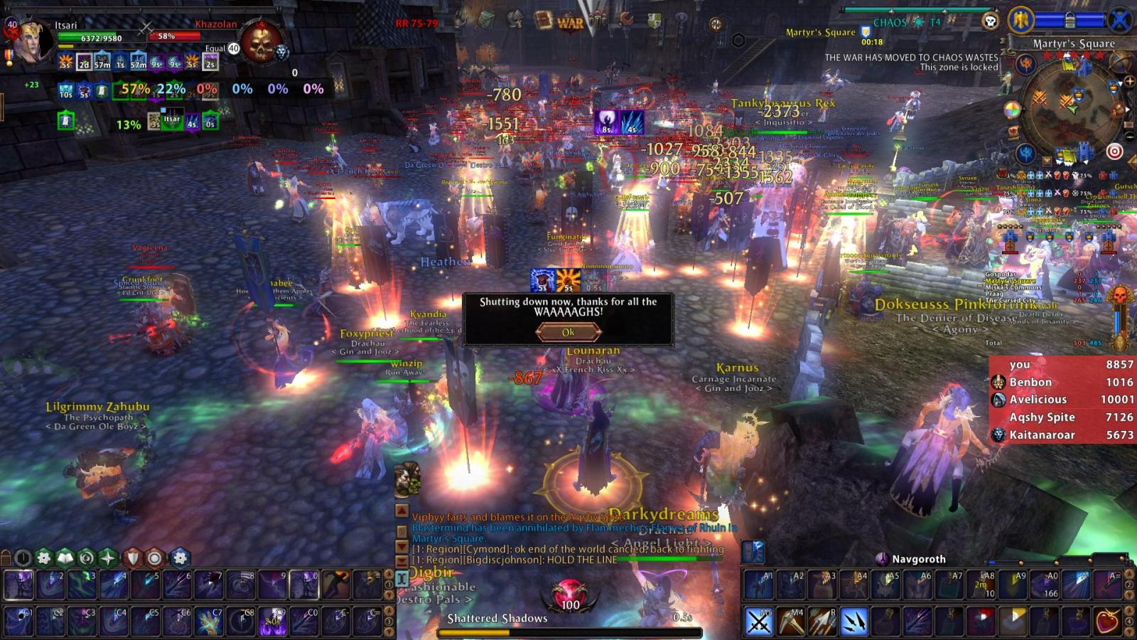 Warhammer Online Shuts Down, Private Server Launches #30079