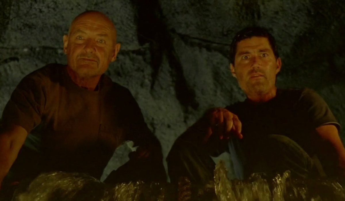 John Locke and Jack Shepard in Lost series finale