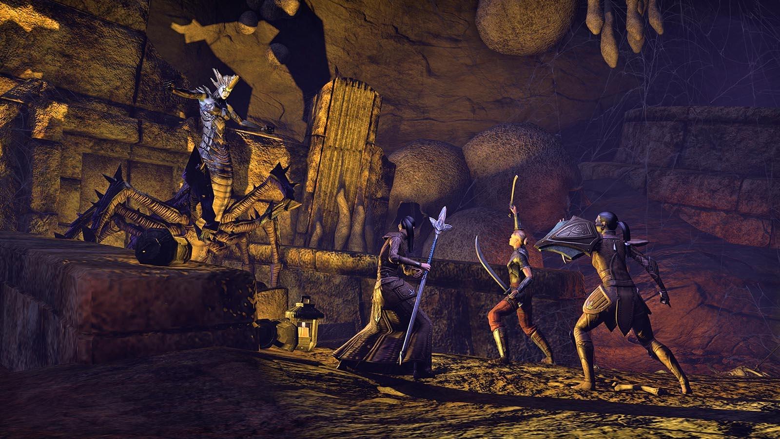 Elder Scrolls Online Screenshots Explore Ruins, Caves - CINEMABLEND