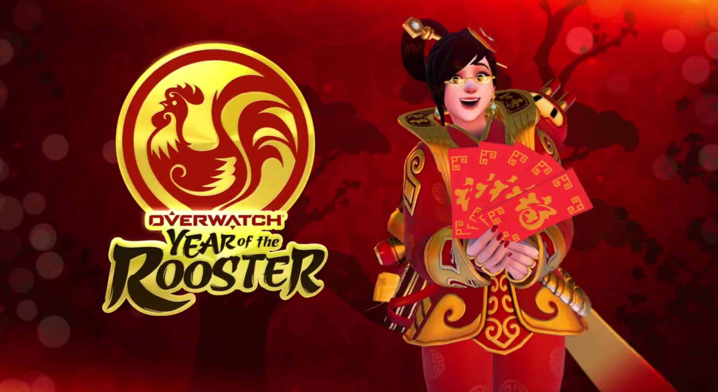 Overwatch Chinese New Year Skins Revealed Pc Gamer