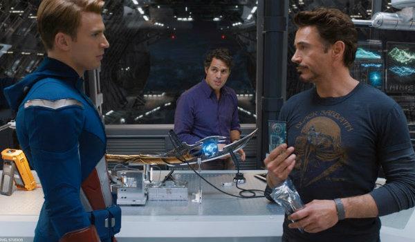 The Avengers Argument scene