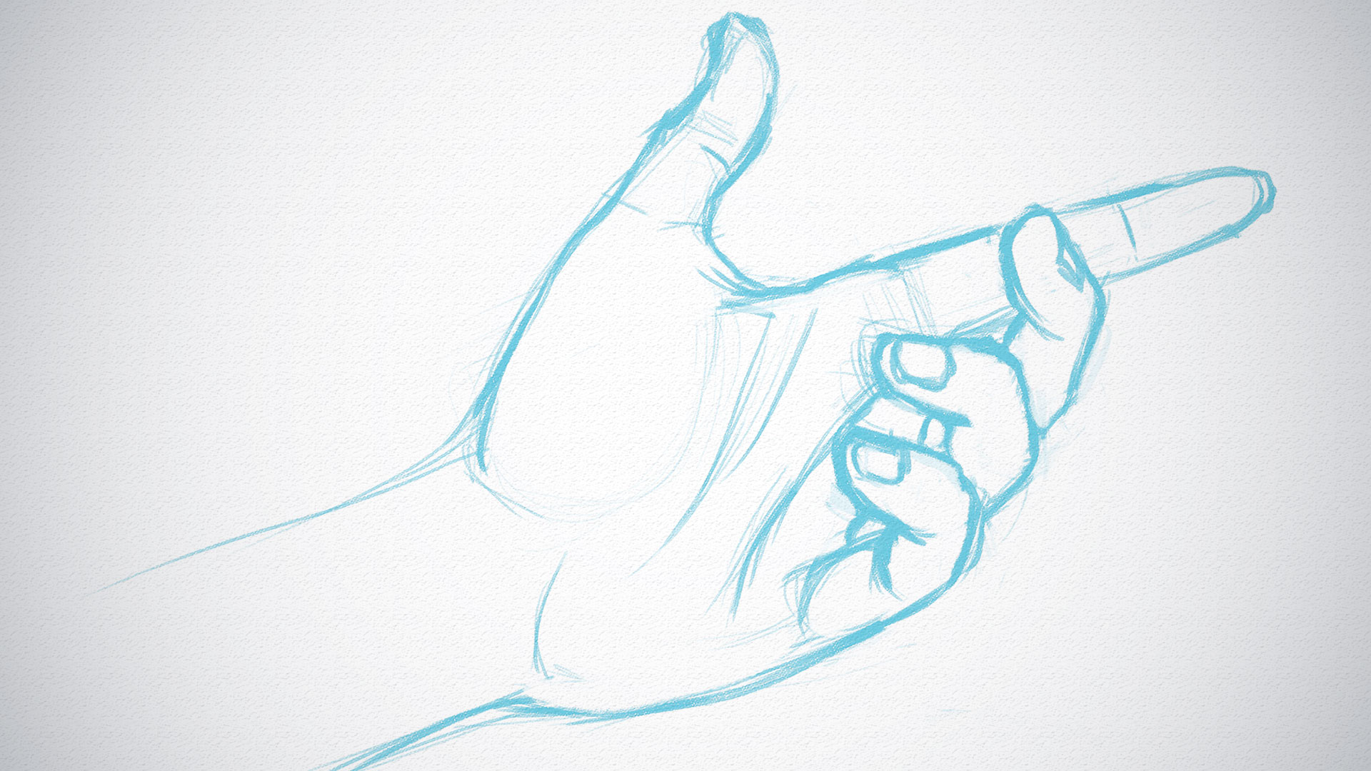 How to quickly sketch hands | Creative Bloq