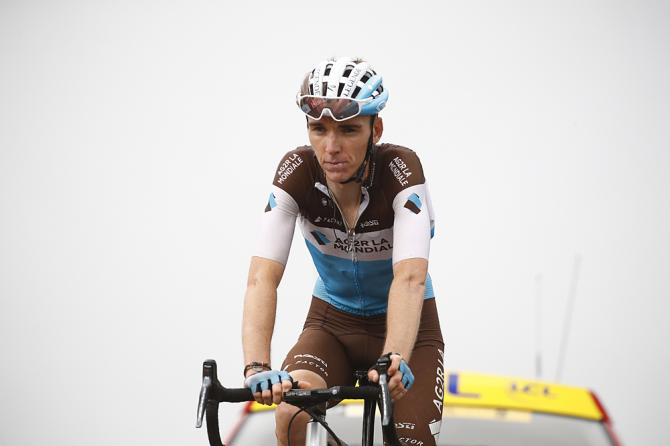 Romain Bardet (AG2R La Mondiale) finished 13th stage 17 at the Tour de France