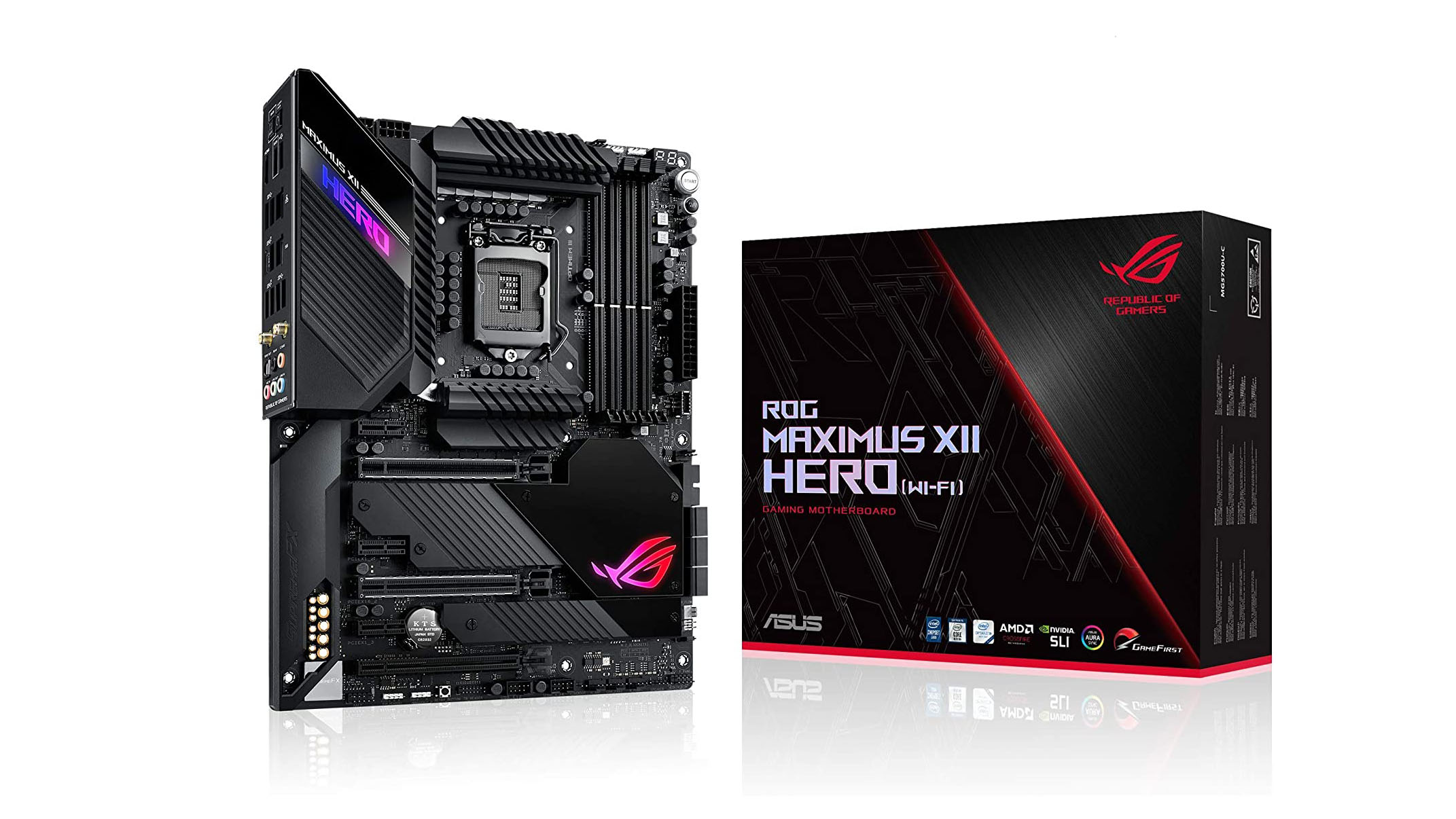 Best motherboards: Asus ROG Maximus XII HERO