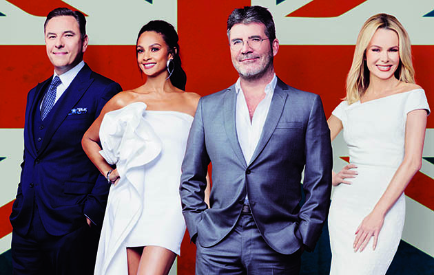 Britain's Got Talent David Alesha Simon Amanda