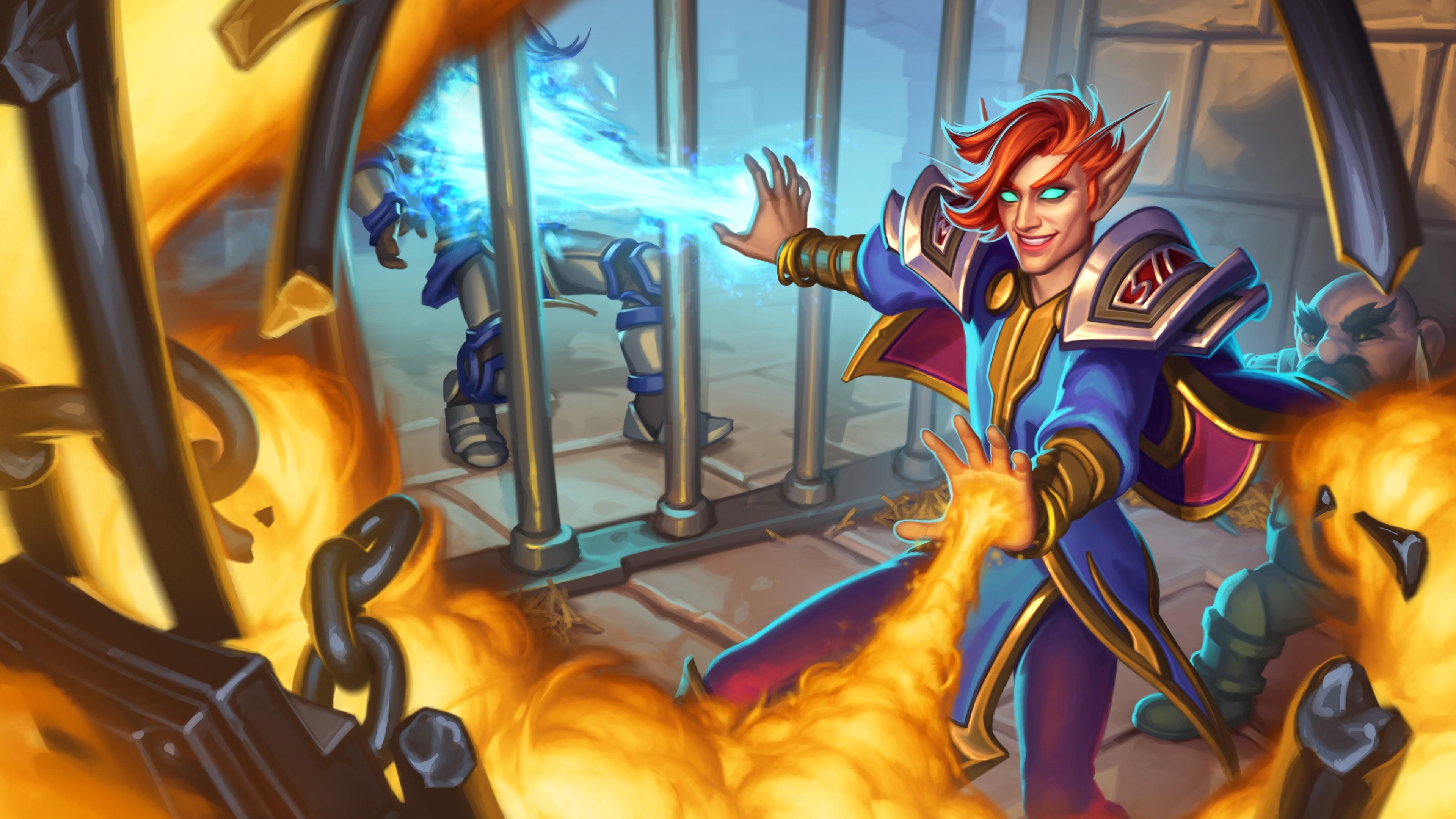 Sorcerer's Gambit art