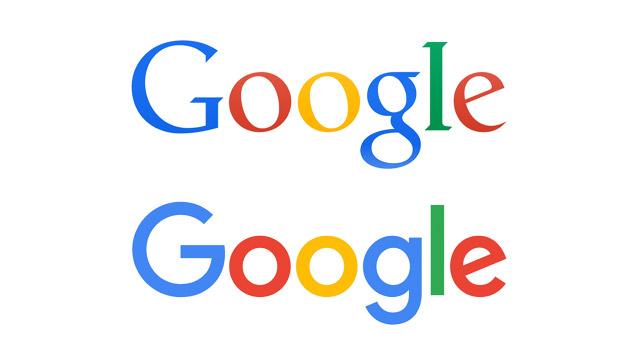 Logo design: Google