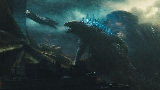 Godzilla, Rodan and Ghidorah.