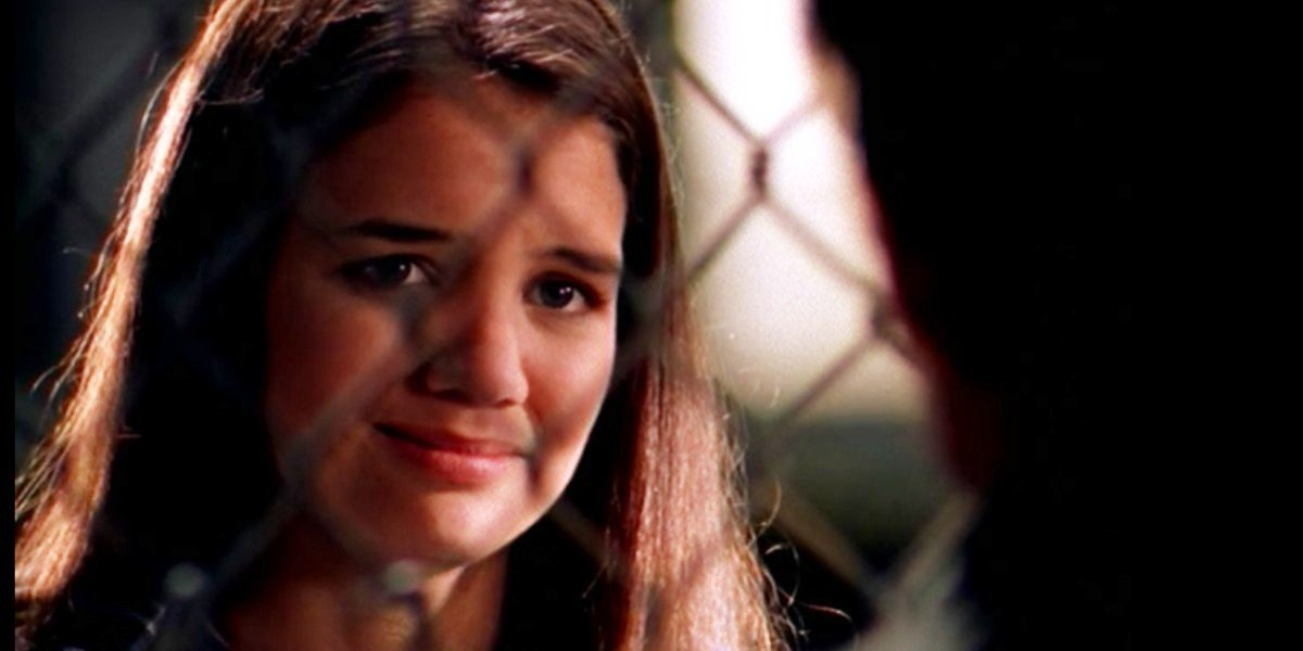 "Katie Holmes as Joey Potter in Dawson's Creek ""Decisions"" episode"