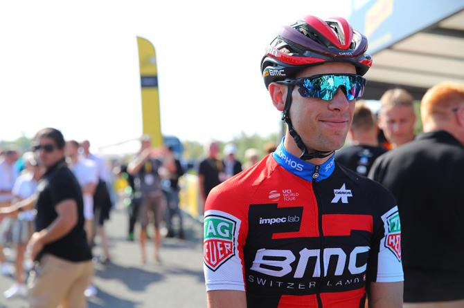 Richie Porte (BMC) caught behind crashes, also lost time in stage 1