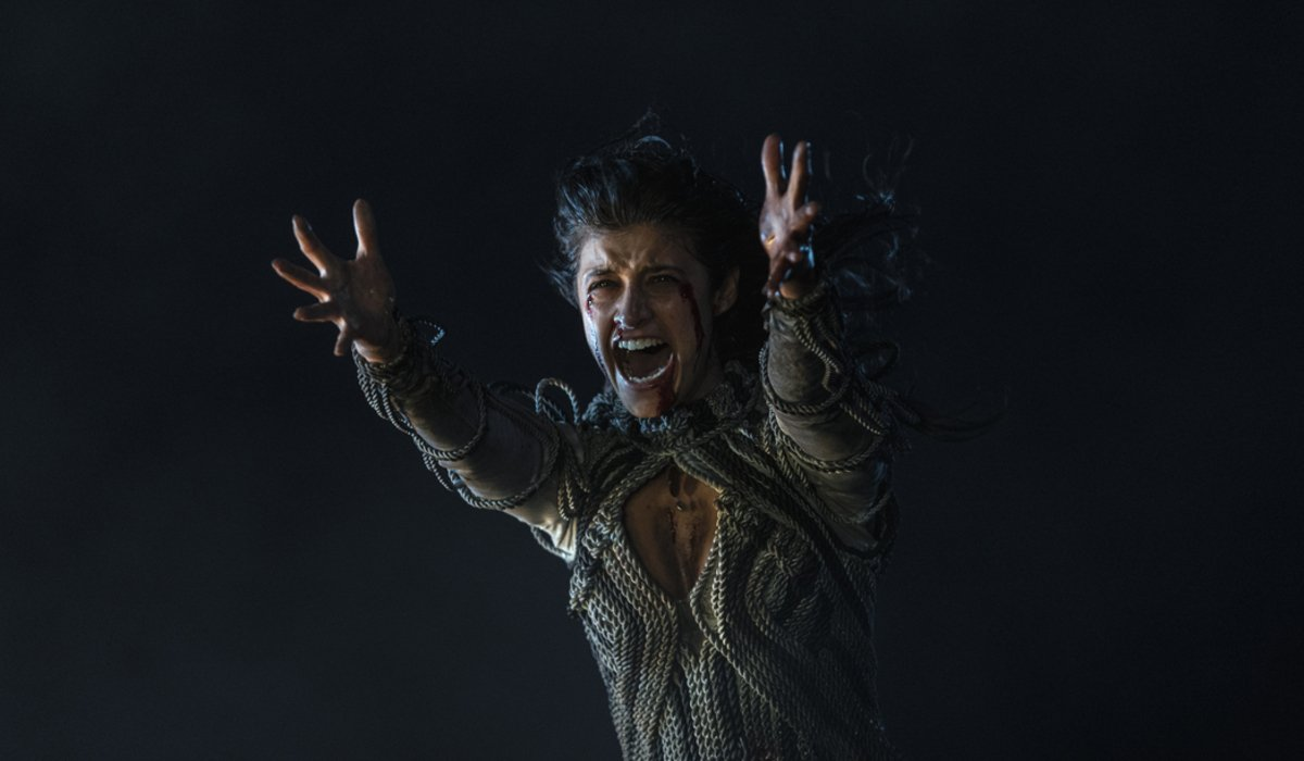 the witcher netflix yennefer screaming magic