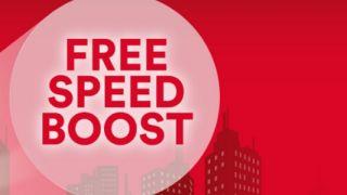 Virgin Broadband speed boost deal