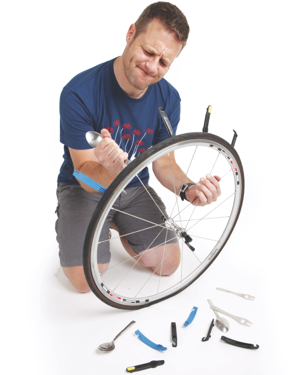 cycling active how to change a tyre