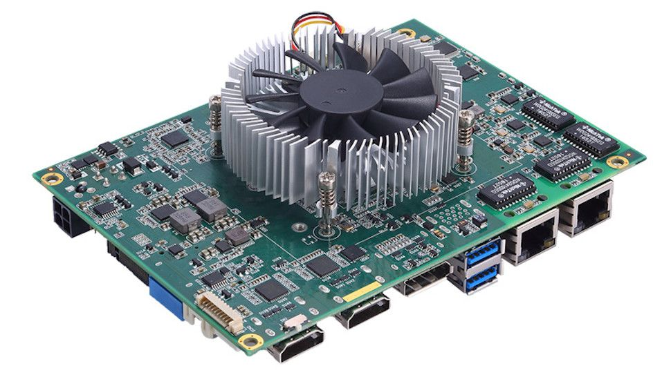 Raspberry Pi not powerful enough for you? This compact board boasts an AMD Ryzen APU