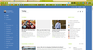 From the Principal's Office: Feedly- An RSS Reader Replacement for Google Reader