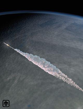 Russian Meteor Explosion: 3D Trajectory