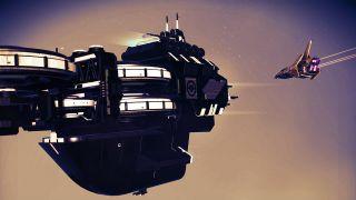 No Man's Sky freighter